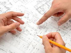 現在、お願いした設計事務所さんで診療所の内装工事を進めて頂いております。